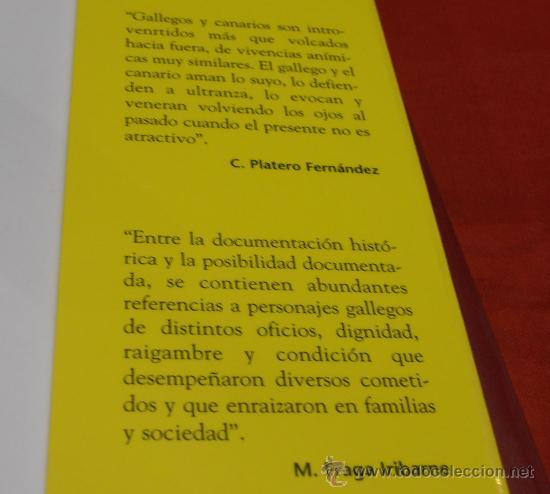Libros: GALLEGOS EN GRAN CANARIA, CARLOS PLATERO FERNÁNDEZ - Foto 3 - 36492423