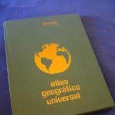 Libros: ATLAS GEOGRÁFICO UNIVERSAL SALINAS. Lote 36954838