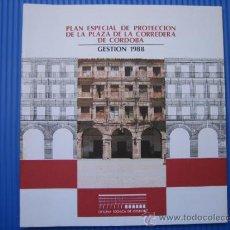 Livros em segunda mão: PLAN ESPECIAL DE PROCTECCION DE LA PLAZA DE LA CORREDERA (CÓRDOBA) 1998. Lote 37179963