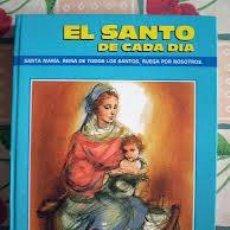 Libros: EL SANTO DE CADA DÍA. Lote 37624481