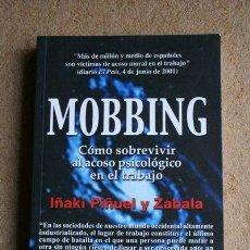 Libros: MOBBING. IÑAKI PIÑUEL Y ZABALA. SAL TERRAE.. Lote 37647572