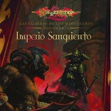 Libros: IMPERIO SANGRIENTO : LAS GUERRAS DE LOS MINOTAUROS VOL. 3 DE RICHARD A. KNAAK. Lote 116160695