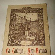 Libros: LA CARTUJA SAN BRUNO Y SUS HIJOS LA EDITORIAL VIZCAÍNA AÑO 1953. Lote 38164629