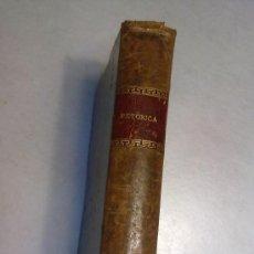 Libros: RETORICA LIBRO ANTIGUO CON TAPAS Y ENCUADERNACION EN PIEL. Lote 38373517