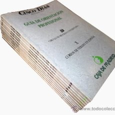 Libros: 10 CUADERNOS GUÍA DE ORIENTACIÓN PROFESIONAL -- CIRCULO DE PROGRESO UNIVERSITARIO -- . Lote 38511453