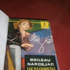 Libros: LOS ILUSIONISTAS. BOILEAU - NARCEJAC. EDITORIAL MOLINO, BARCELONA, 1958.. Lote 39055293