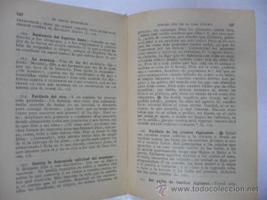 Libros: EL SANTO EVANGELIO VIDA DOCTRINA Y MILAGROS DE NUESTRO SEÑOR JESUCRISTO. PRIMITIVO SANMARTI. TDK13 - - Foto 2 - 39277931
