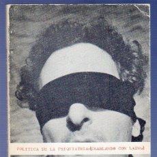 Libros: POLITICA DE LA PSIQUIATRIA ( CHARLANDO CON LAING). J. L. FÁBREGAS - A. CALAFAT. . Lote 39498837