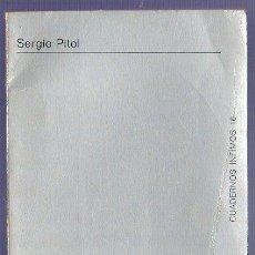 Libros: DEL ENCUENTRO NUPCIAL. SERGIO PITOL. TUSQUETS EDITOR. BARCELONA. 1970.. Lote 39798108