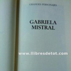 Libros: GABRIELA MISTRAL - CARLOTA MARVAL. Lote 34877331