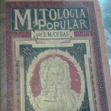 Libros: MITOLOGIA POPULAR POR MD CUBAS. Lote 40532605