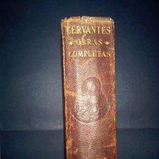 Libros: ETERNAS, OBRAS COMPLETAS DE CERVANTES, SIN FECHA, AGUILAR. Lote 40596146