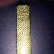 Libros: JOYA, MARQUINA, TOMO VI, AGUILAR. Lote 40841071