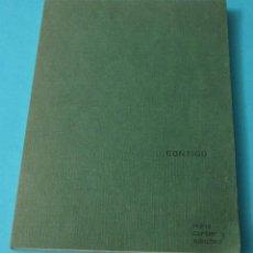 Libros: CONTIGO. NURIA CARTIER Y SÁNCHEZ. POESÍA. Lote 40897319