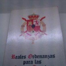 Libros: REALES ORDENANZAS PARA LAS FUERZAS ARMADAS 1979. Lote 40956535