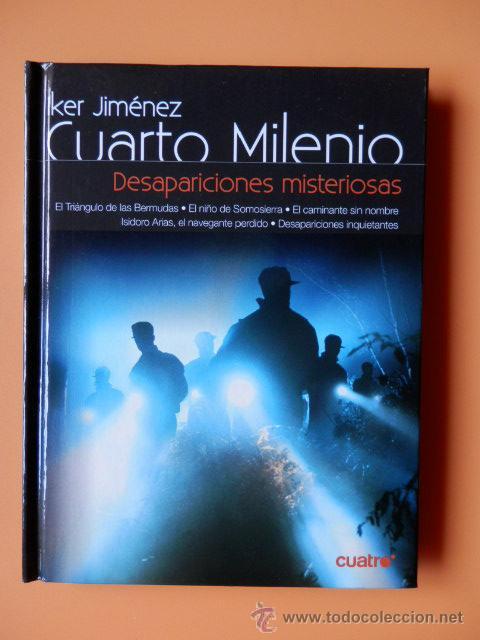 Cuarto Milenio Libros | Cuarto Milenio 1ª Temporada Desapariciones Mi Comprar Libros