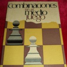 Libros: AJEDREZ .- COMBINACIONES EN EL MEDIO JUEGO .- P.A. ROMANOWSKY .- AÑO 1972. Lote 41215085