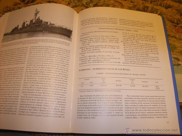 Libros: Militaria. Buques de la armada española. la ayuda americana y el programa de modernización. 1986 - Foto 2 - 42372106