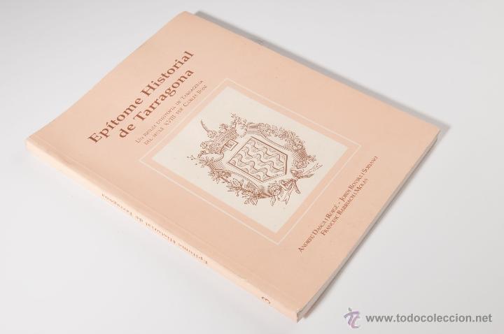 EPÍTOME HISTORIAL DE TARRAGONA, CARLES BONI AÑO 1993 (Libros sin clasificar)