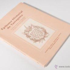 Libros: EPÍTOME HISTORIAL DE TARRAGONA, CARLES BONI AÑO 1993. Lote 42543284