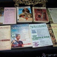 Libros: LOTE DE 8 LIBROS, 2 NOVELAS DE AGATHA CHRISTIE Y 6 READERS SELECCIONES. Lote 42657709