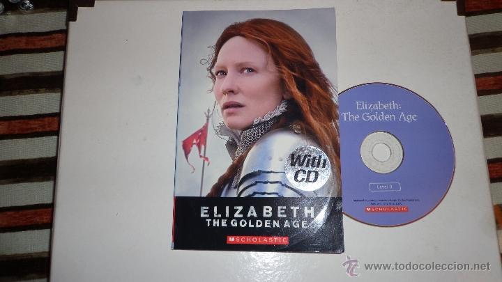 APRENDER IDIOMAS - ELISABETH THE GOLDEN AGE - AUDIO LIBRO+LIBRO - RECIBELO EN CASA POR 6€ TOTAL (Libros sin clasificar)