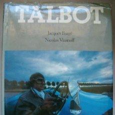 Libros: JACQUES BORGÉ, NICOLAS VIASNOFF. TALBOT. RM65779.. Lote 43802103