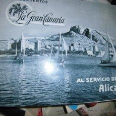 Libros: LIBRO ANTIGUO ESTABLECIMIENTOS ALICANTE LA GRAN CANARIA TIENDAS 60 PGS FOTOS POSTALES. Lote 44351187