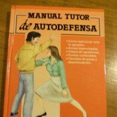 Libros: MANUAL TUTOR DE AUTODEFENSA, POR STEFANO DI MARINO - 1992 - ESPAÑA - NUEVO!!. Lote 44662484