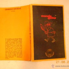 Libros: MUNDO QUINO Nº 21 NJ.E. Lote 44880037
