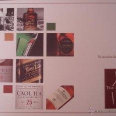 Libros: SELECCIÓN DE WHISKIES. SELECCIÓN DE DESTILADOS. THE RESERVE SHOP. 2009-2010. TODOVINO.. Lote 44921404