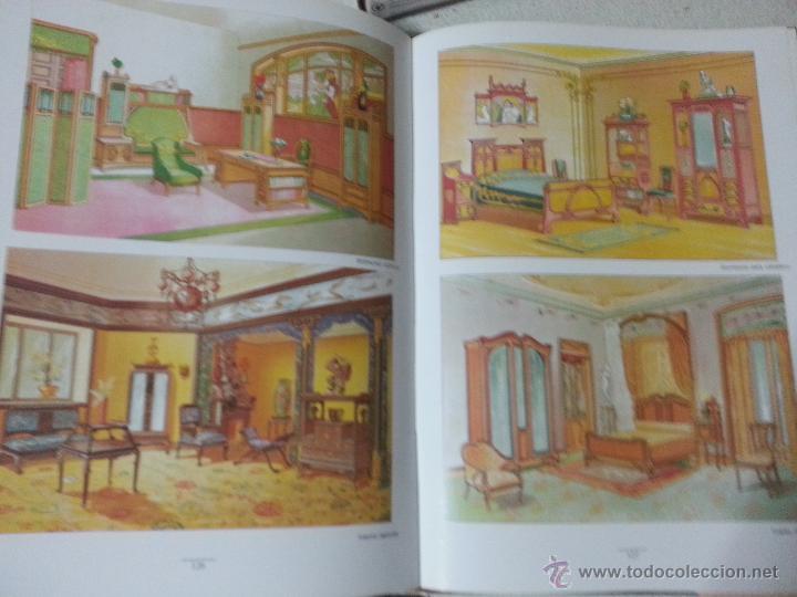 Libros: MUEBLES ANTIGUOS - MAGNIFICO LIBRO EL MUEBLE Y SUS ESTILOS MARAVILLOSAS LAMINAS EL EBANISTA MODERNO - Foto 4 - 45190768