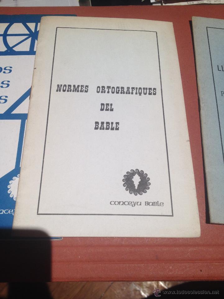 Libros: LIBROS EN BABLE CUENTOS DE ESTOS DÍIS NORMES ORTOGRAFIQUES DEL BABLE LLINGUA Y CULTURA - Foto 3 - 45396950