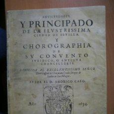 Libros: LIBRO DE RODRIGO CARO. Lote 45481305