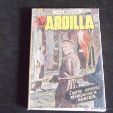 Libros: ENCICLOPEDIA PULGA-V25-105X75MM-COLECCION ARDILLA-CUATRO HOMBRES REGRESARON A HUNGRIA-64PAG-. Lote 45541474