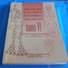 Bücher - MARCAS DE AGUA EN DOCUMENTOS DE LOS ARCHIVOS DE GALICIA SIGLO XVIII, TOMO VI - 45581399