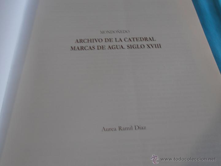 Libros: MARCAS DE AGUA EN DOCUMENTOS DE LOS ARCHIVOS DE GALICIA SIGLO XVIII, TOMO VI - Foto 6 - 45581399