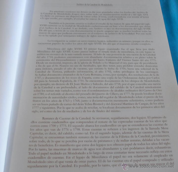 Libros: MARCAS DE AGUA EN DOCUMENTOS DE LOS ARCHIVOS DE GALICIA SIGLO XVIII, TOMO VI - Foto 7 - 45581399