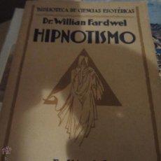 Libros: HIPNOTISMO. Lote 45616563