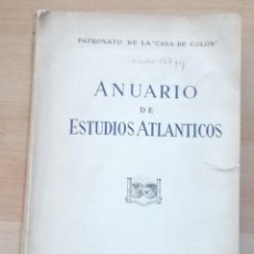 Libros: VV. AA. ANUARIO DE ESTUDIOS ATLÁNTICOS. Nº 8. RM66827. . Lote 45878752