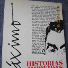Libros: HISTORIAS IMPAVIDAS- MAXIMO- ED. FUNDAMENTOS 1971. Lote 45959604