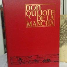 Libros: DON QUIJOTE DE LA MANCHA - 2 TOMOS - CONMEMORATIVOS - EDITORIAL ESPASA / CALPE - 1966 (CARTONÉ). Lote 45964621