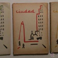 Libros: CIUDAD. BUENOS AIRES. 1955-56. REVISTA COMPLETA.. Lote 46376028