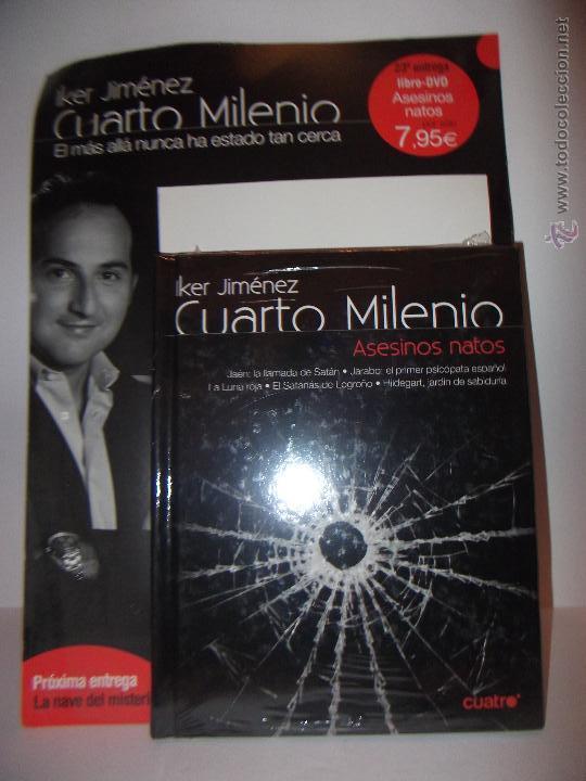 Libro Cuarto Milenio | Cuarto Milenio Nº23 Asesinos Natos Libro Dvd Comprar Libros Sin