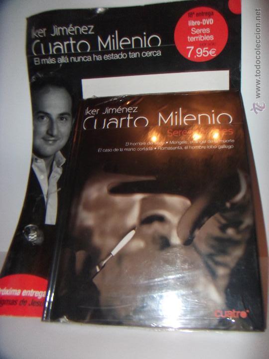 cuarto milenio nº18 seres terribles libro-dvd - Comprar Libros sin ...