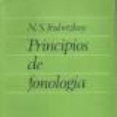 Libros: [LINGUÍSTICA; FILOLOGÍA:] TRUBETZKOY, N. S.: PRINCIPIOS DE FONOLOGÍA.. Lote 46832436