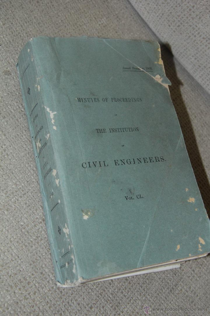 MINUTES OF PROCEEDINGS OF THE INSTITUTION OF CIVIL ENGINEERS 1902 (Libros sin clasificar)