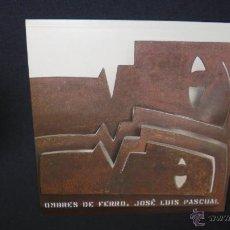 Libros: OMBRES DE FERRO - JOSE LUIS PASCUAL - 2002 - FUNDACIÓ LA CAIXA.. Lote 47055961