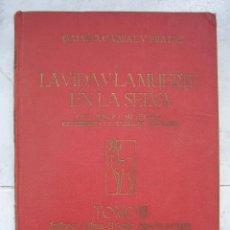 Libros: LIBRO DE CAZA. LA VIDA Y LA MUERTE EN LA SELVA POR GALVAO,CABRAL Y PRATAS. CAZA MAYOR Y SUS TECNICAS. Lote 47573963