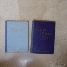 Libros: FÍSICA Y QUÍMICA, ED. BRUÑO, DE TERCER Y CUARTO CURSO DE BACHILLERATO. 1958 Y 1960, (VER ESTADO EN F. Lote 48473932